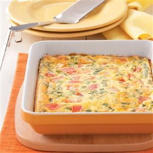 California Egg Bake Recipe