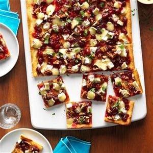 Camembert & Cranberry Pizzas Recipe