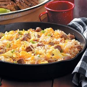 Camper's Breakfast Hash Recipe