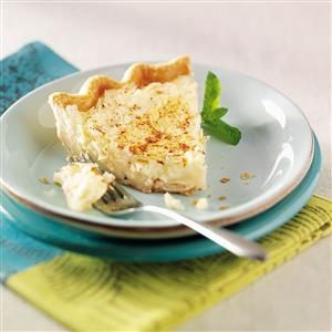 Can't Miss Coconut Custard Pie