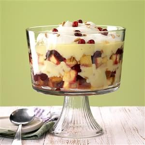 Canadian Cranberry Trifle Recipe