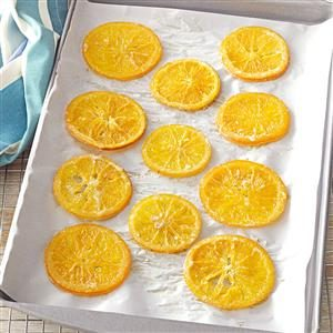 Candied Citrus Recipe