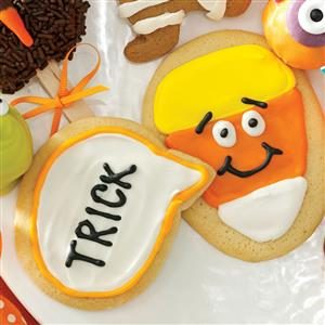 Candy Corn Conversation Cookies Recipe