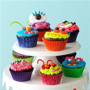 Candy Cupcakes Recipe