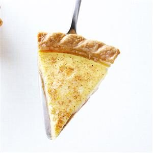 Caramel Custard Pie Recipe