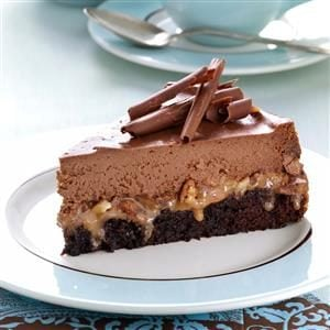 Caramel Fudge Cheesecake Recipe