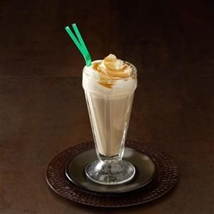 Caramel Macchiato Floats Recipe