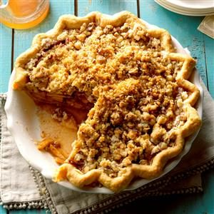 Caramel-Pecan Apple Pie