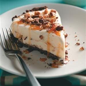 Caramel Toffee Ice Cream Pie Recipe
