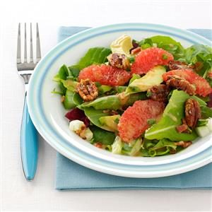Caramelized Grapefruit Salad
