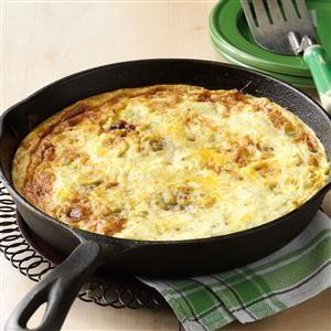 Caramelized Mushroom and Onion Frittata Recipe