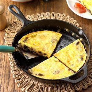 Caramelized Mushroom and Onion Frittata Recipe