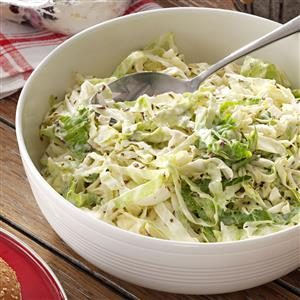 Caraway Coleslaw with Citrus Mayonnaise Recipe
