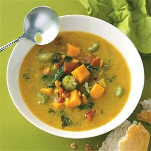 Caribbean Potato Soup