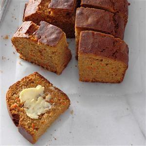 Carrot Honey Loaf Recipe