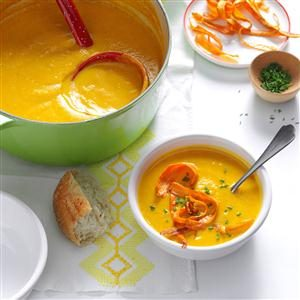 Carrot-Parsnip Bisque Recipe