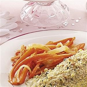 Carrots Lyonnaise Recipe
