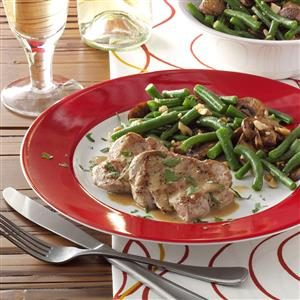 Cashew Green Beans and Mushrooms Recipe