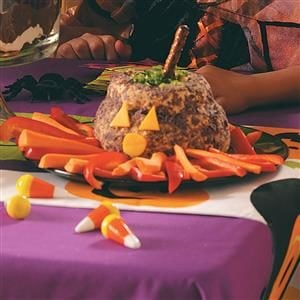 Cauldron Cheese Ball Recipe