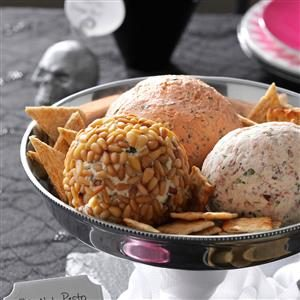 Celebration Cheese Balls Recipe