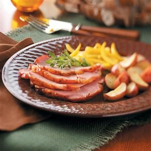 Champagne Baked Ham Recipe