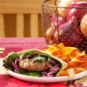 Champion Lamb Burgers Recipe