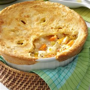 Cheddar Chicken Potpie Recipe