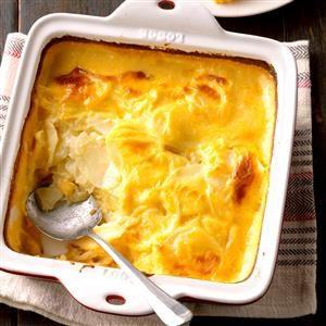 Cheddar Scalloped Potatoes Recipe