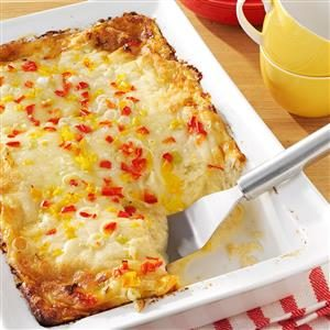 Cheese & Crab Brunch Bake Recipe