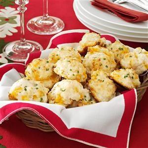 Cheese & Garlic Biscuits Recipe