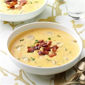 Cheese Soup with a Twist Recipe