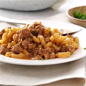 Cheeseburger Macaroni Skillet Recipe