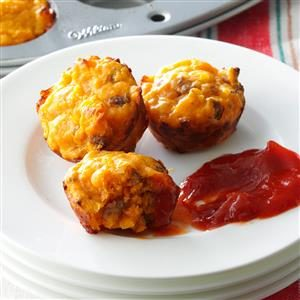 Cheeseburger Mini Muffins Recipe