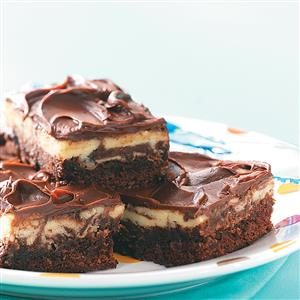 Cheesecake Brownie Squares Recipe
