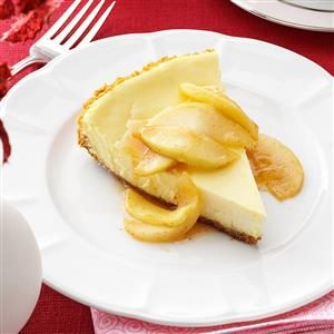 Cheesecake with Caramel Apple Topping Recipe