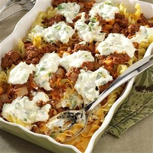 Cheesy Beef Casserole Recipe