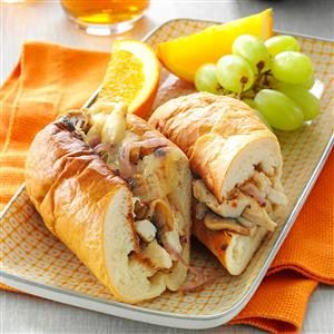 Cheesy Chicken Subs