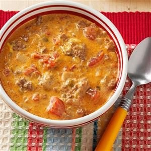Cheesy Chili Recipe