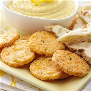Cheesy Chive Crisps Recipe