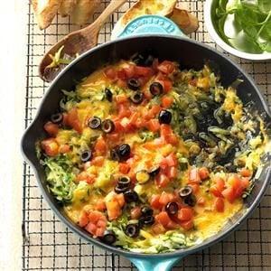 Cheesy Zucchini Saute