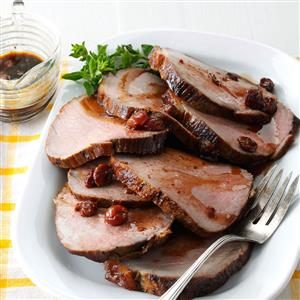 Cherry Balsamic Pork Loin