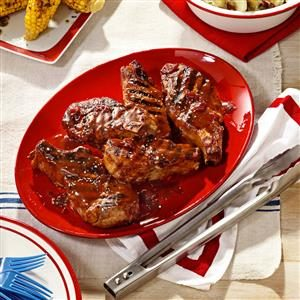 Cherry-Barbecue Pork Ribs Recipe