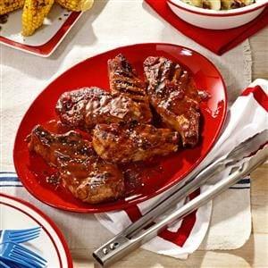 Cherry-Barbecue Pork Ribs Recipe