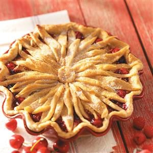 Cherry-Berry Streusel Pie Recipe