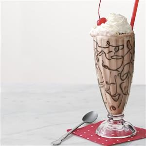 Cherry Chocolate Floats