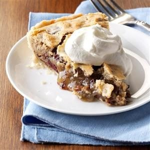 Cherry Chocolate Pecan Pie Recipe