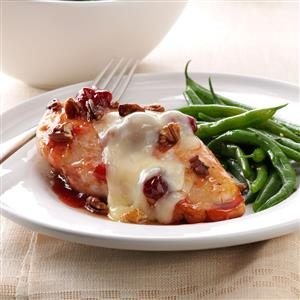 Cherry-Glazed Chicken with Toasted Pecans Recipe