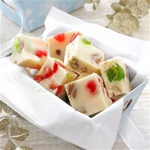 Cherry-Nut White Fudge Recipe
