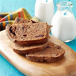 Cherry-Pecan Cocoa Bread Recipe