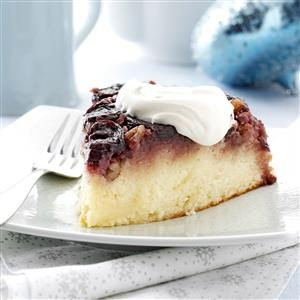 Cherry Pecan Upside-Down Cake Recipe